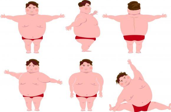 Kleiner Penis wegen Übergewicht und dickem Bauch?