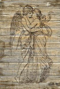Er küsste und umarmte mich zärtlich wie ein Engel