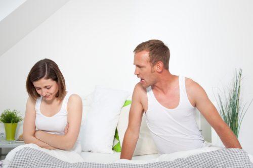 Muss ich immer Streit anzetteln und sie total unter Druck setzen, bis wir Sex haben?