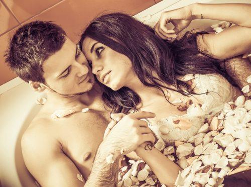 Verführung durch Romantik oder romantische Aktionen