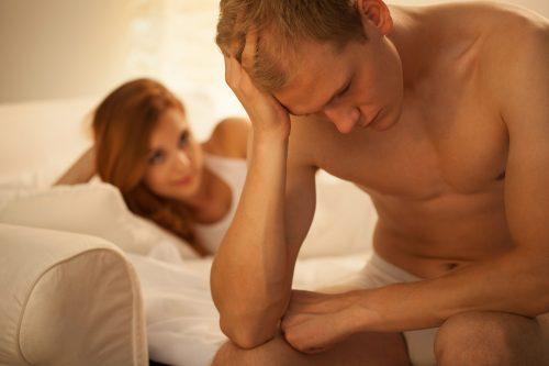 Halbsteif: Beim Sex mit ihr wird der Penis meist nicht richtig hart