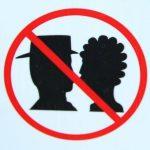 Hier wird nicht geküsst!