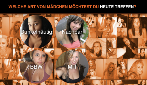 Beispiel-Webseite: Frauen treffen für Erotikkontakt