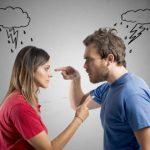 Bei einem Streit oder Konflikt zwischen Mann und Frau gibt es oft gegenseitige Schuldzuweisungen