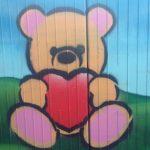 Teddy mit Herz, ich liebe dich!