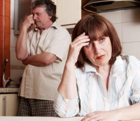 Auch in reiferen Jahren bleiben Partnerschaftsprobleme, dicke Luft und Beziehungsstress nicht aus