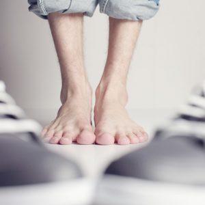 Fußphobie - sie findet Füße eklig
