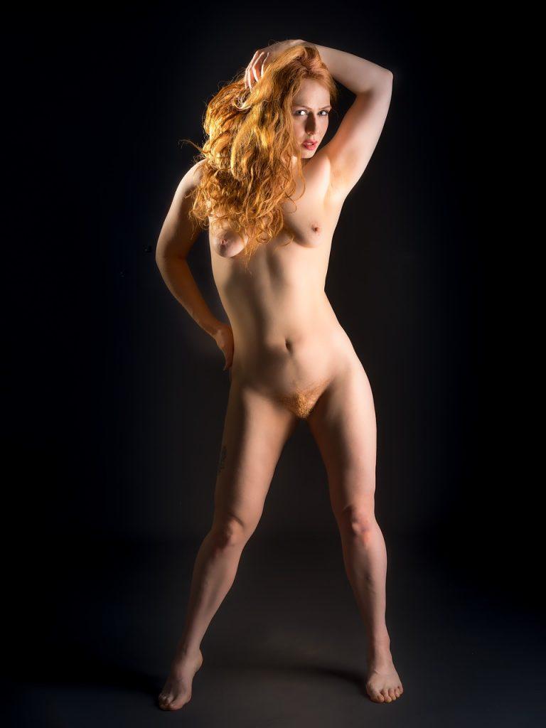Nackte Model Frauen