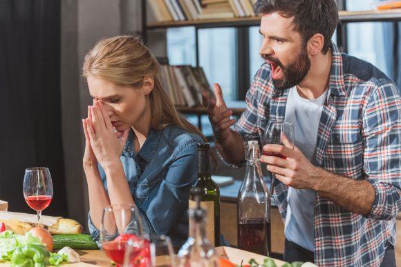 Hat er sich nur aus Stress und Wut für seine Ehe entschieden?